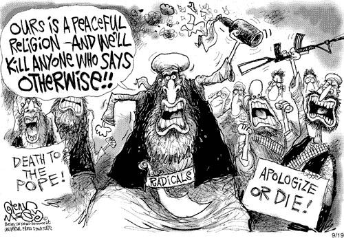 Religious Freedom Cartoon